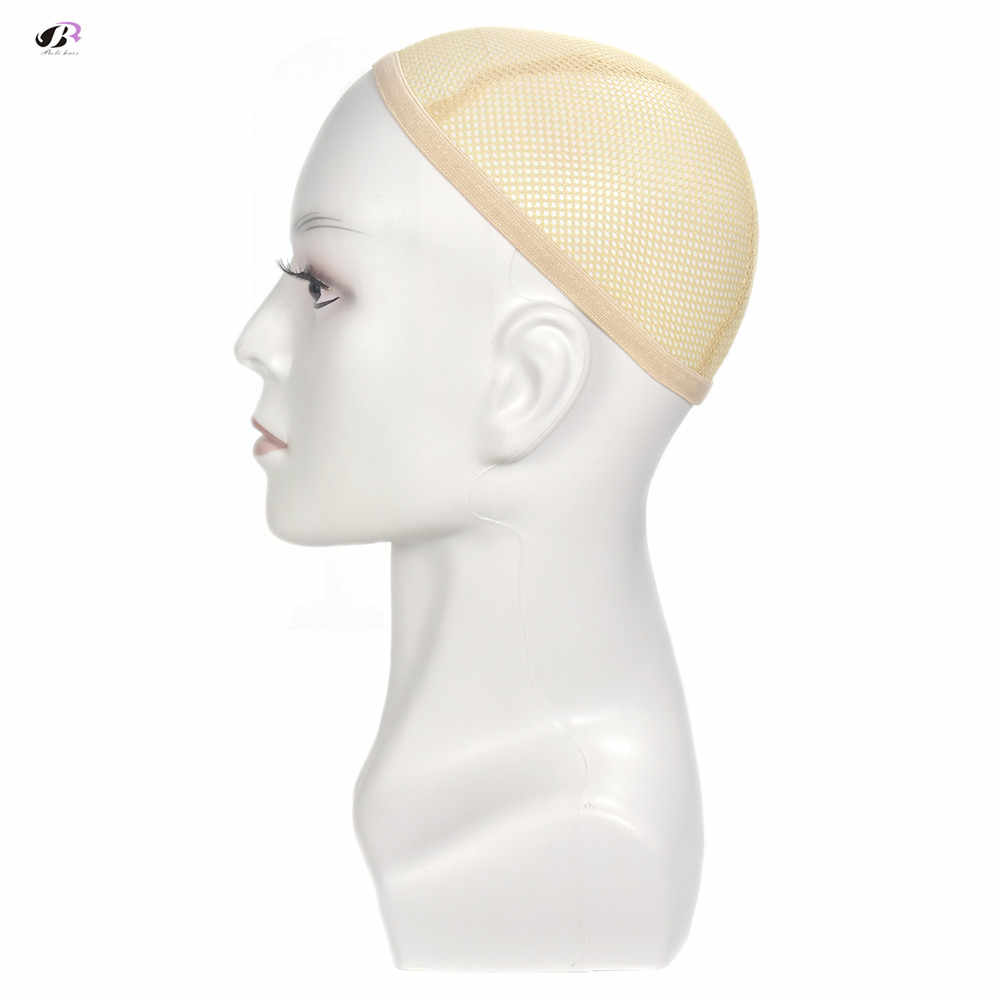Bolihair high quality white Men Wig Stand Training Head Mannequin With Ear Male Dummy Head Wigs Earphone Caps Display