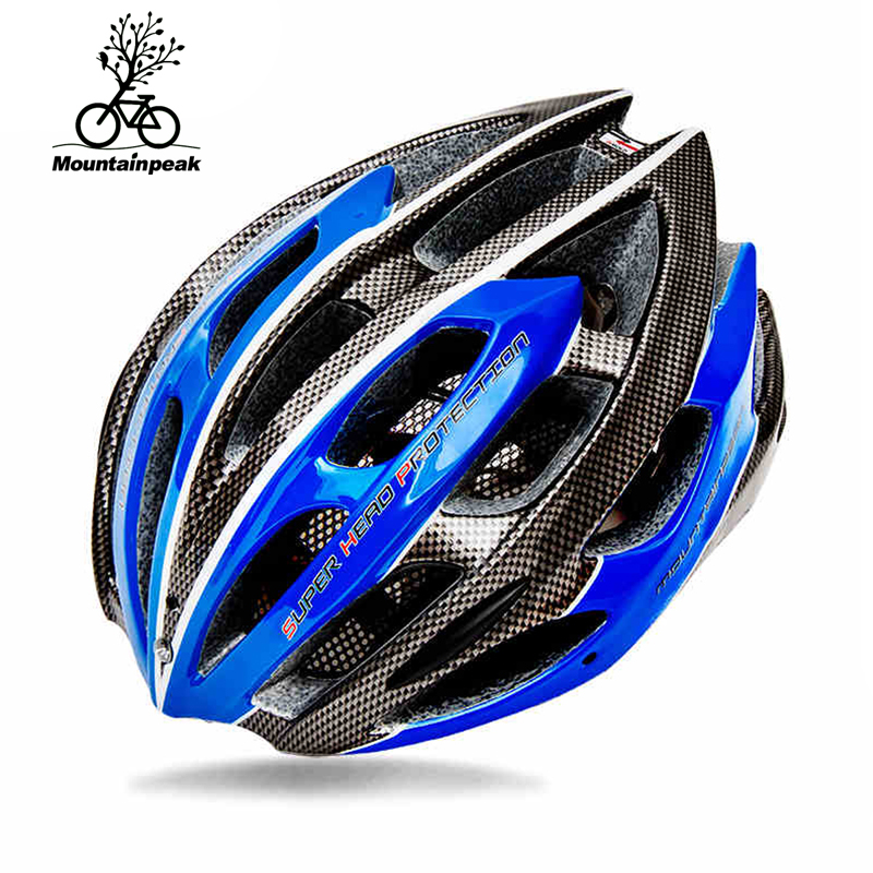 Mountainpeak multi couleur en option casque de vélo super évent ligne la lumière LED d'avertissement lumière amovible 22 montagne EPS casque dans Casque de vélo de Sports et loisirs