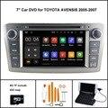 Android 5.1 АВТОМОБИЛЬ DVD GPS для TOYOTA AVENSIS Сенсорный Экран автомобильного аудио (2005-2007)