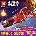 New Lepin 05070 The Republic Cruiser Set Children Educational 963Pcs Star War Series Building Blocks Bricks Toys Model Gift 7665