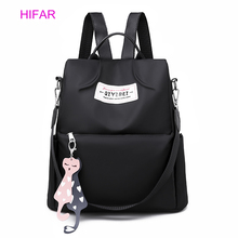 HIFAR Anti Theft Backpack Women Multifunction Female Oxford Bagpack School Bags for Girls Daypack Sac A Dos mochila