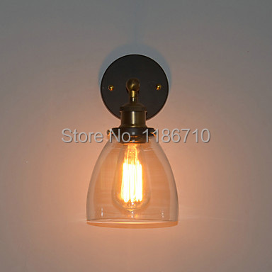 edison wall lamp Retro Iron Light Wall Light In wall light Painting Processing Free shipping