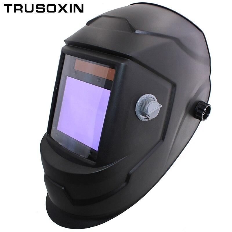 Grande vista eara 4 arco sensor DIN5-DIN13 solar escurecimento automático tig mig mma moagem máscara de soldagem/capacete/soldador boné/lente/soldador vidro