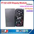 P7.62 Indoor 3in1 Full Color Led Display Module 1/8scan Led Matrix Module LED Video Display Module 244*122mm Led Screen Module