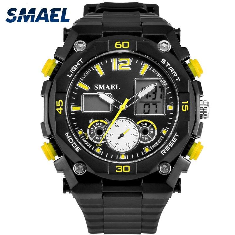 1d1f286cb20 Relógios dos Esportes dos homens Digital LED relógio de Pulso Masculino  Relógio multifuncional Relógio de Quartzo relogios masculino montre homme  WS1363