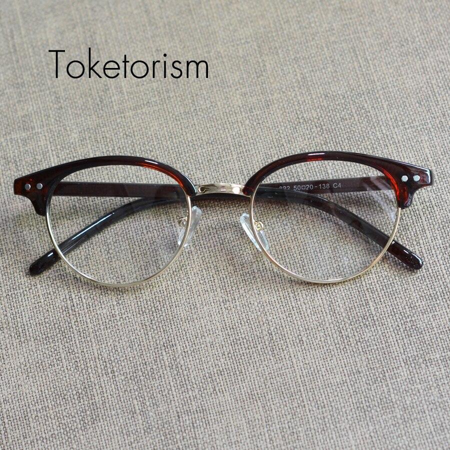 d041f73cd61 Toketorism Latest eyewear trend super vintage oculos de grau feminino retro  men eyeglass frames W2288