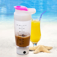 450ML Electric Mugs Portable Protein Shaker Cup Stirring Bottles Automatic Blender Thermos Coffee Mug Mixing Cup