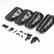 Комплект для переоборудования шин для снегоходов 1/5 Scale Losi 5ive-T ROVAN LT KM X2 RC автомобильные запчасти для обновления