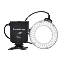 Aputure Amaran Halo AHL-HN100 100 LED Macro Ring Flash Light for Nikon Camera / HDSLR with AF-assist Light