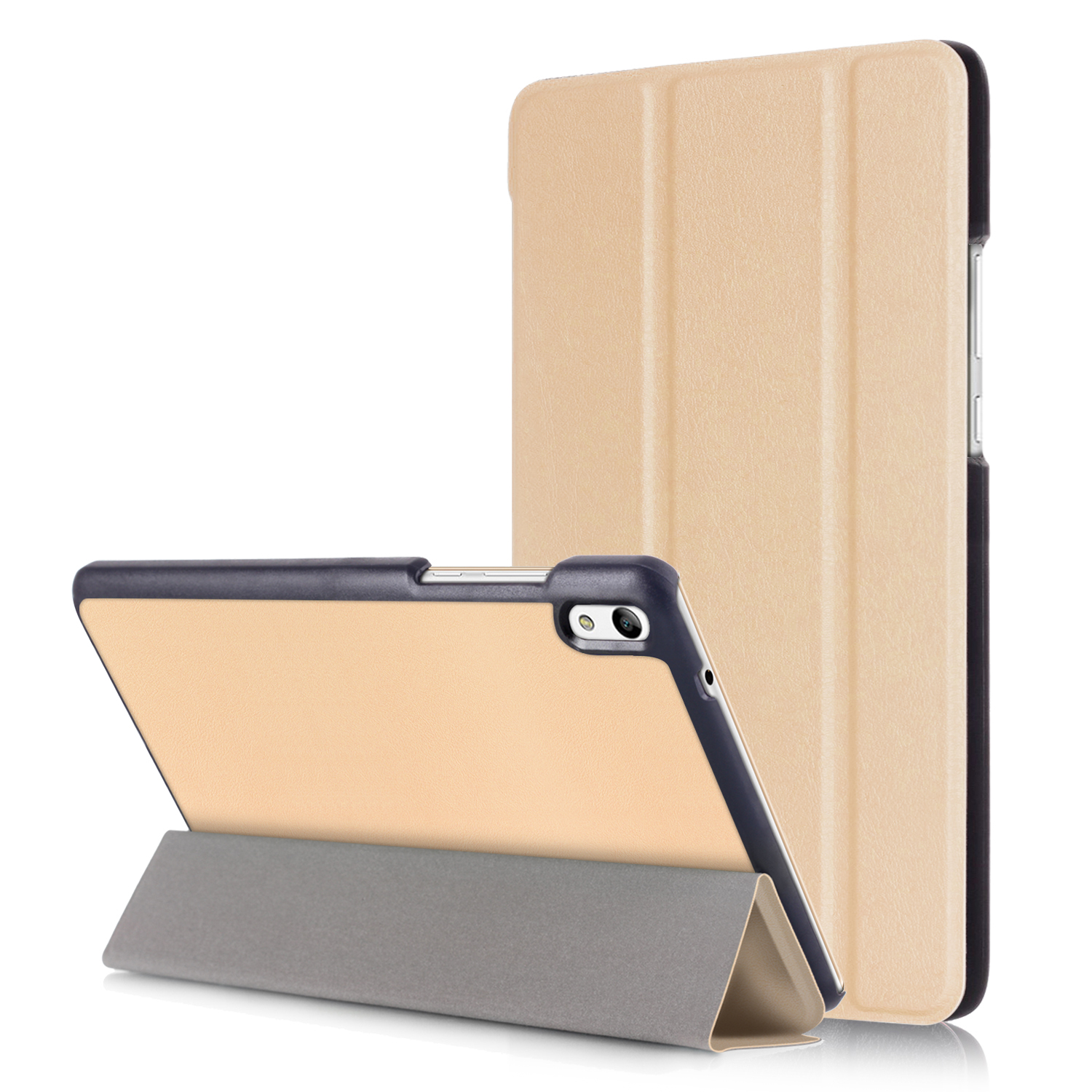 Stand Flip Cases Protective Cover for Huawei Honor Tab 2 JDN-AL00/W09 8.0 inch Android tablet case+Screen Protector Film+Stylus