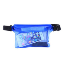 21.5*15cm Phone Bag Case Waterproof Men Women Bag Big Waist Case Cover For Phone Pockets Underwater Sports Bag For Surf Swim