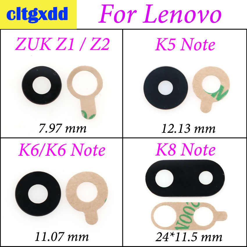 Cltgxdd Nuovo Alloggiamento Posteriore Posteriore della Macchina Fotografica Lente In Vetro Con Adesivo Per Lenovo ZUK Z2 Z1 K5 Nota K6 Nota K8 nota