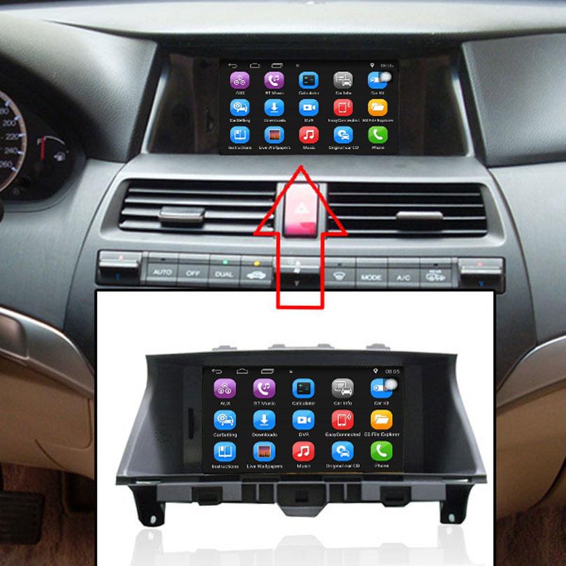 8 Inch Car Gps Navigation For Honda Accord 2008 2012 Car