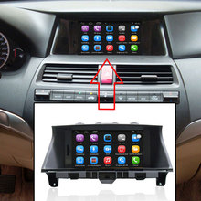 8 inch Car GPS Navigation for Honda Accord (2008-2012) Car Radio Video Player Support WiFi Intelligent mobile phone Mirror-link