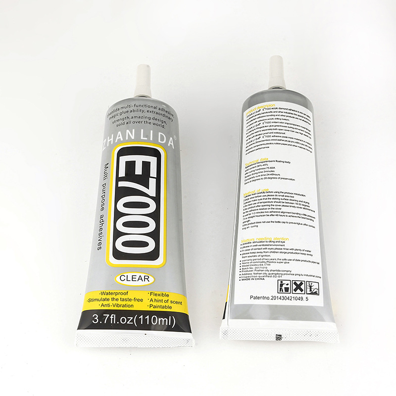 110ml 1pack More Powerful Resin Adhesive, E7000 Clear Strength Adhesive Liquid Glue MultiPurpose Super Sealant Handset DIY Touch