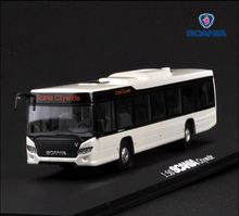 Alloy Model Gift 1:50 Scale Scania A90 City Wide Transit Bus Vehicle DieCast Toy Model for Collection Decoration 1 43 ikarus 280 soviet russia articulated city bus coach diecast model car bus