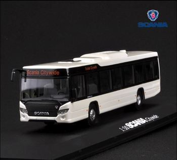 Alloy Model Gift 1:50 Scale Scania A90 City Wide Transit Bus Vehicle DieCast Toy Model for Collection Decoration