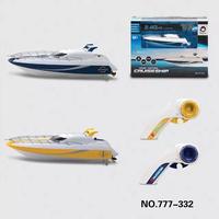 Happycow 777 332 2.4G 4CH Remote Control Boat Dual Propellers High Speed Cruise Ship Yacht Model