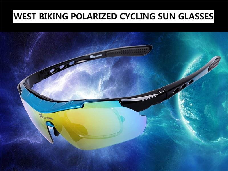Compre WEST BIKING Polarizada Ciclismo Óculos De Bicicleta Óculos Ao ... 88b8b9f1c0