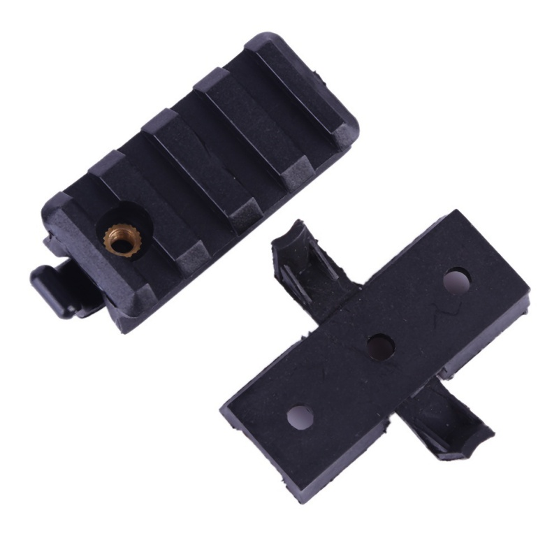 WING-LOC//PIC Flashlight Mount Adapter Base for Fast Helmet Side Rail Gadget