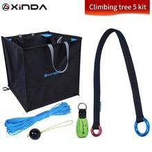 Xinda Climbing Tree 5 Set Garden Tree Climbing Training Extension Rope Set Tree Top Rope Collection Rope Equipment