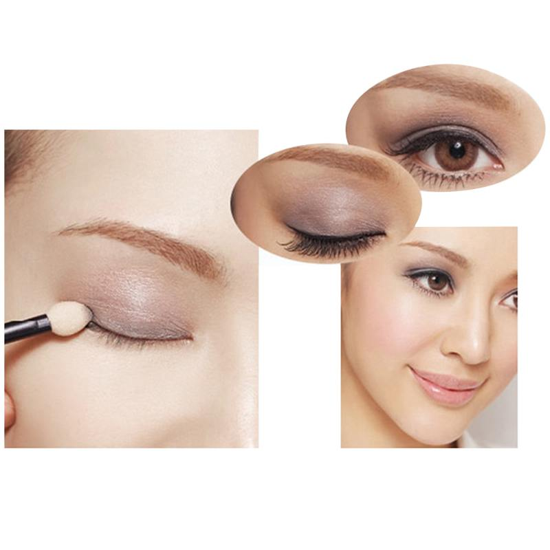 Caixa forma eyeshadow caso completo profissional maquiagem