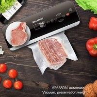 100 240 В кухонная Автоматическая Сушилка & влажная вакуумная упаковочная машина для сохранения вакуума
