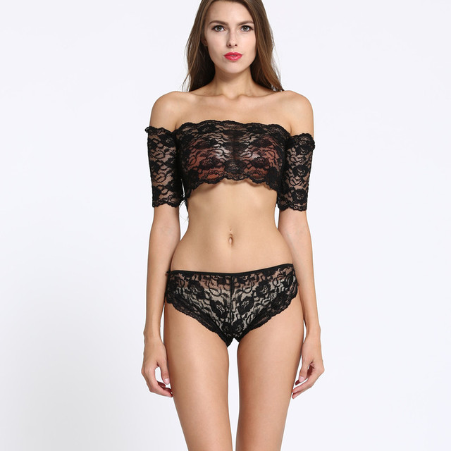 d7af9bac64 sexy costumes Sex Set black lace Transparent lingerie see through bra set  cupless underwear porn hot erotic sex toys sleepwear