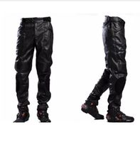 Motorcycle off road motorcycle race fall resistance Cycling Jean pants Slim pants has protection
