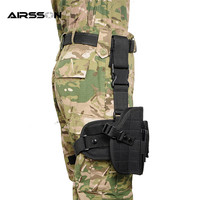 Outdoor Hunting 600D Molle Nylon Legging Bag Tactical Gun Accessory Utility Waist Pouch Military Multi Mission