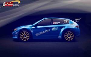 Image 3 - KM 1/7 RC Subaru Biểu Tình WRC Điều Khiển Từ Xa Mô Phỏng Cuộc Biểu Tình Xe Hai Bộ Lốp Xe 20Kg Kim Loại Svrvo Lâu Đài 120A esc 1515 Động Cơ MT 305