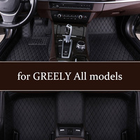 Car floor mats for GREELY Emgrand EC7 2008 2013s Emgrand EC8 2011 2016s LC(Panda) X7 2008 2016s GX7 2018 2019s EX7 2014 2016s