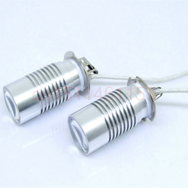Free Shipping 2Pcs/Lot car-styling H3 Fog Light Bulb For Mitsubishi CARISMA (DA_)