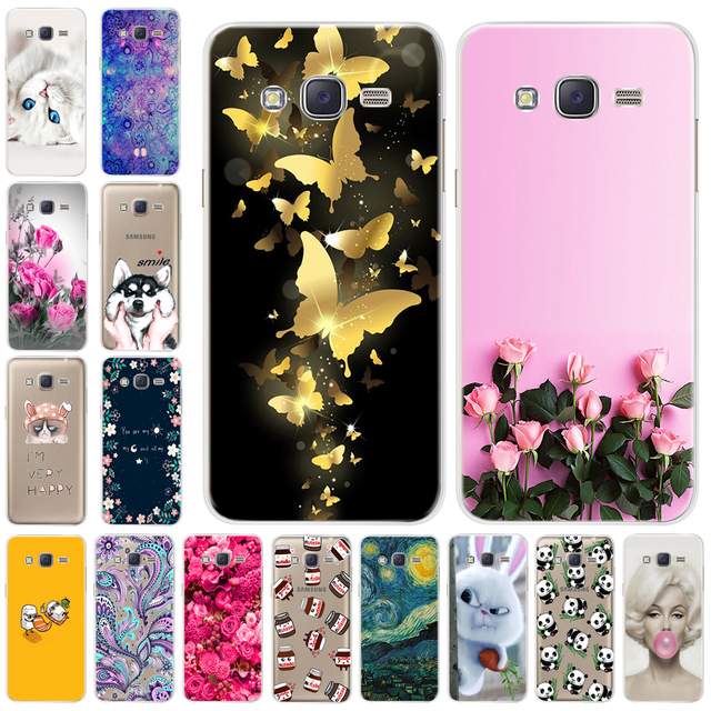 Cool Soft TPU Case For Samsung Galaxy j2 Prime G532 2016 Case Silicone Cartoon Cute Cases Cover For Samsung J2Prime SM-G532f Bag
