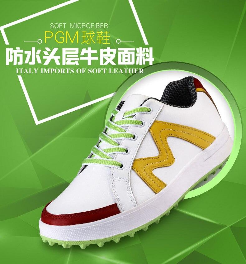 Couro Genuíno sapatos sapatos de Golfe Esportes