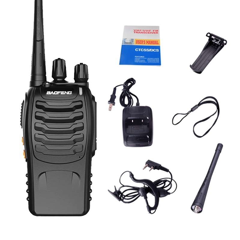Image 5 - 3PCS Baofeng BF 888S Two Way Radio BF 888S 6km Walkie Talkie 5W Portable CB Ham Radio Handheld HF Transceiver Interphone bf888S-in Walkie Talkie from Cellphones & Telecommunications