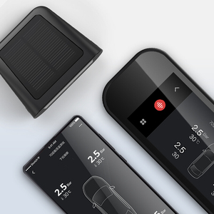 Image 4 - 70mai Smart Auto TPMS bandenspanningscontrolesysteem Solar Power Dual USB Opladen Auto Alarmsysteem tpms sensor