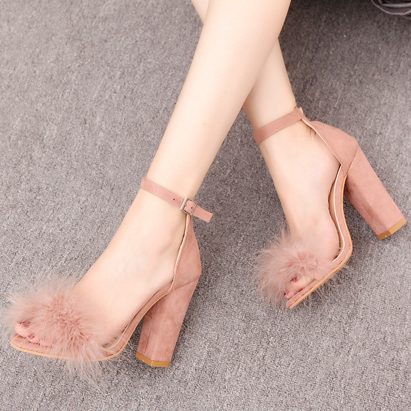 Women High Heels Sandals Fashion Sexy Comfortable Ladies Sandals Female Party Shoes Summer Shoes large size 34-43 free shipping anmairon shallow leisure striped sandals women flats shoes new big size34 43 pu free shipping fashion hot sale platform sandals