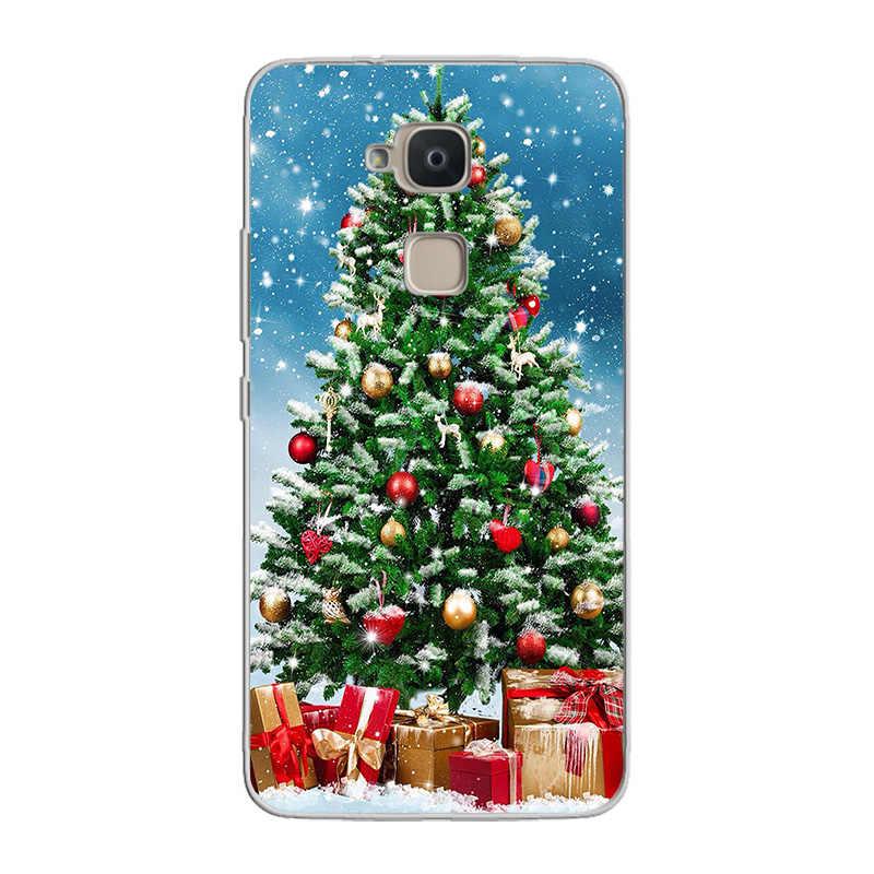 Ciciber Ponsel Case Funda untuk BQ Aquaris X V Vs C U2 U X2 X5 Plus Lite Pro Lembut TPU untuk BQ M5 E5s M5.5 M FHD Natal Capa Tritone