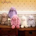 Cuddly Long Ear Bunny Fluffy Rabbit Plush Toys Cushion Stuffed Soft Dolls Kid Partner Birthday Christmas Gift High Quality