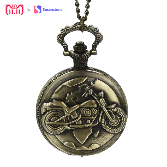 2018 Fashion Vintage Chain Retro The Greatest Pocket Watch Necklace For Grandpa