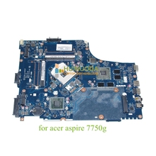 P7YE0 LA-6911P MBRMK02001 MB.RMK02.001 For acer aspire 7750G ATI HD 6630M HM65 DDR3