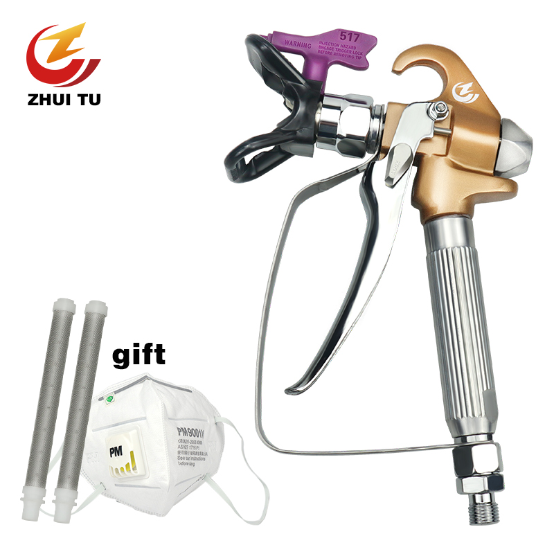 3600PSI High Pressure Airless Paint Spray Gun +The bottom of the nozzle is stainless steel+wagner paint sprayer titan sprayer3600PSI High Pressure Airless Paint Spray Gun +The bottom of the nozzle is stainless steel+wagner paint sprayer titan sprayer