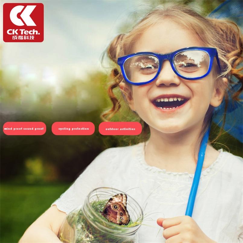 CK Tech. Gafas de seguridad de silicona para niños y niñas, gafas protectoras antiniebla para ciclismo, gafas protectoras contra salpicaduras y arena para niños Caliente táctica electrónica orejera para disparar al aire libre deportes Anti-ruido auriculares de sonido de amplificación de audiencia de auriculares