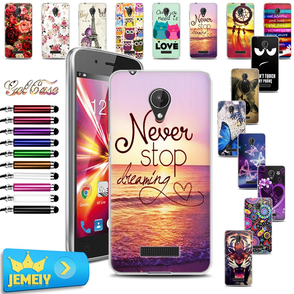official photos 90aa1 91be9 US $1.69 |Original Cartoon Skin Print TPU Gel Case For Micromax Q380 Back  Cover For Micromax AQ5001 D320 A290 Case Soft Tempered-in Fitted Cases from  ...