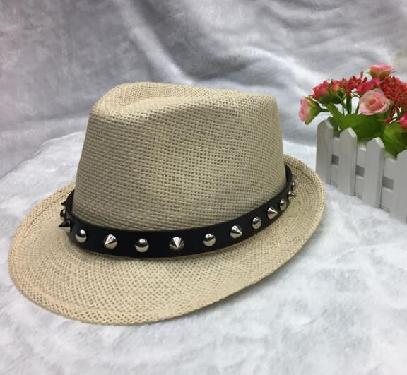 2017 YaraTui, new European and American fan grass, breathable men and women hat, British retro jazz hat, boat shaped hat new post woven lable of men and women cold hat money lady knitting hat qiu dong the day han2 ban3 warm pointed