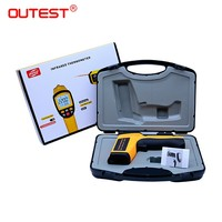 OUTEST Non contact Industrial Pyrometer IR Temperature Meter GM1150 20:1 Infrared Thermometer Digital 50~1150C ( 58~2102F)