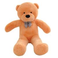 Kids Stuffed Animals Toys Cute Plush Bear Soft Toys Home Decor Children's Birthday Present Baby Sleeping Appease Toy 1.2m