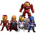 Homem De Ferro Avengers Age of Ultron Nações Crianças SF05 Hulkbuster Thor Capitão América PVC Figuras de Ação Brinquedos sem caixa WU661