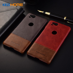 Image 3 - Case for Google Pixel 2 KEZiHOME Luxury Hit Color Genuine Leather Hard Back Cover capa For Google Pixel2 5.0 Phone cases